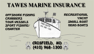 Tawes Marine Insurance - Crisfield, MD